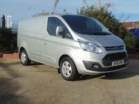 2016 Ford Transit Custom 290 L1 H1 125ps Low Roof Limited Van 4 door Panel Van