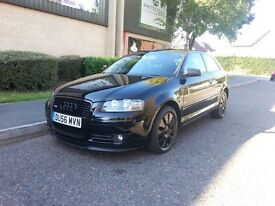 AUDI A3 SPECIAL EDITION 2007 RARE!!! TRADE PRICE !!! LOOKS GREAT DRIVES GREAT NEW 1YR MOT £1995!!!