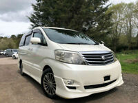 FRESH IMPORT FACE LIFT 56 PLATE TOYOTA ALPHARD ESTIMA 3.0 V6 AUTO SUNROOF