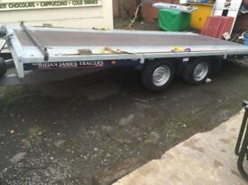 Brian James tilt bed transporter ( cargo connect ) no vat