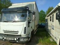 Iveco Eurocargo curtain side tail lift