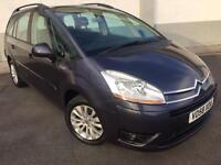 2008 08 CITROEN GRAND C4 PICASSO 1.6HDI 16V VTR+ MANUAL 7 SEATER 67000 MILES