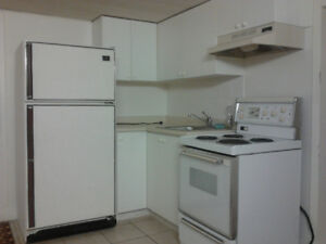 1 large bedroom bsmt apt for a SINGLE ONLY! All-inclusive!