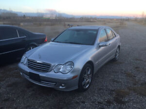 2007 Mercedes-Benz C-Class loaded!! Trades? Offers?