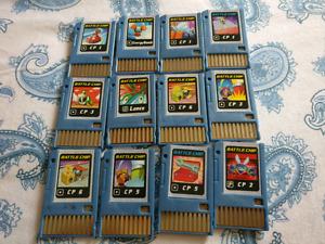 Megaman Battle chips!!