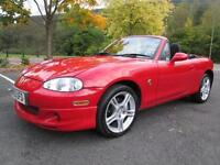 04/53 MAZDA MX-5 1.8I S-VT SPORT IN RED WITH ONLY 58,000 MILES