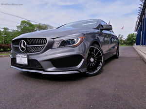 2015 Mercedes-Benz CLA 250 4Matic Sedan