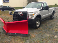 2011 Ford F-250 Regular Cab With Boss V-Blade Plow!
