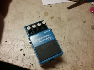BOSS CS-3 Compression Sustainer , like new