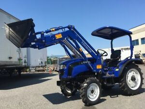 Brandnew Lovol TE254 Tractor with Canopy and Front End Loader
