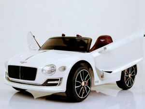 Licensed 12V Bentley Exp 12 Child Ride-On Car with Doors, Remote
