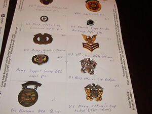 CANADIAN & AMERICAN MILITARY MEDALS BADGES