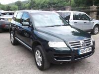 2004 04 Volkswagen Touareg 2.5TDI auto 2004MY