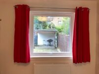 Red Next curtains *FREE*
