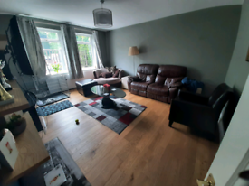 Pet friendly double bedroom in modern house. Optional extra room