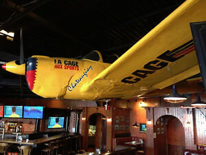 SUPERBE AVION DE LA CAGE AUX SPORTS