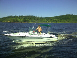 **NEW PRICE**24 foot Doral Ibiza with twin 150hp outboard motors