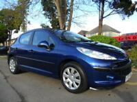 PEUGEOT 207 1.4 2005 63,000 MILES COMPLETE WITH M.O.T HPI CLEAR INC WARRANTY