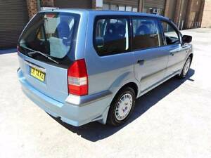 Clean 2001 Mitsubishi Nimbus Wagon Auto for backpackers Low KM Redfern Inner Sydney Preview