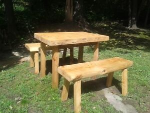MUSKOKA BENCH @ TABLE    Final clear out