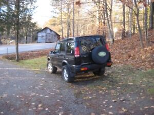 2001 LAND ROVER DISCOVERY $2000--TRADE--