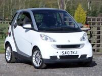 2010/10 SMART FORTWO 0.8 CDI DIESEL AUTO PASSION 35k MILES