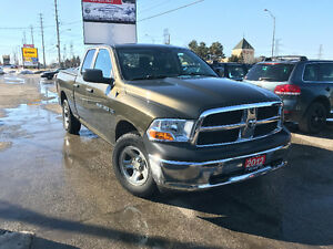 2012 Dodge Ram 1500 ST, Accident Free, 2 Years Warranty