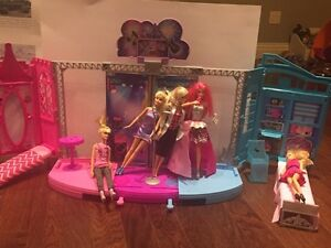 Barbie and accessories for sale