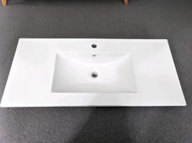 Modern ceramic sink