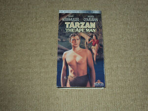 1932, TARZAN THE APE MAN, VHS MOVIE, EXCELLENT CONDITION