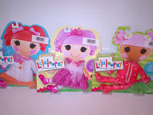 "Lalaloopsy ""3"" Fashion Packs Pjs, Party Dress, Winter Coat NEW!"