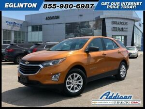 2018 Chevrolet Equinox LSaccident free, One owner
