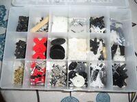 Lots de pieces pour servos teleguidés
