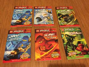 Lego Ninjago Scholastic Early Reader Novels