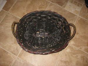 Wicker Basket Brown