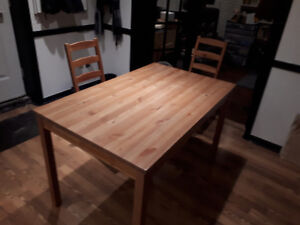 Ikea Dining Table + Chairs - Excellent Condition - $50 MUST GO
