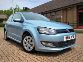 2011 61 Volkswagen Polo 1.2 TDI BlueMotion Tech With Full VW Service History