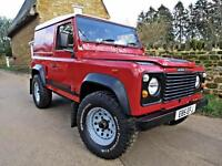 1988 LAND ROVER DEFENDER 90 2.5 DT 5 SPEED. EXCELLENT EXAMPLE !!