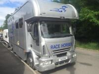 2005 05 IVECO EUROCARGO 13.5T COACH BUILT HORSEBOX WITH LIVING SPACE