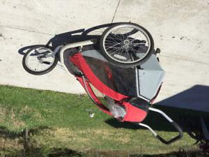 Chariot de vélo / jogging pour enfants