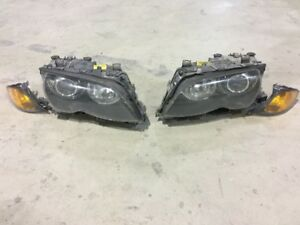 BMW E46 HEAD LIGHT OEM FACELIFT 2005 4 PORTES