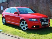 2006 Audi A3 2.0 TFSI S Line Special Edition Quattro 3dr