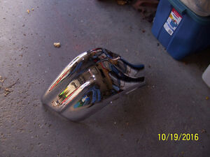 1957 CHEVROLET NEWLY PLATED FRONT BUMPER END BELAIR