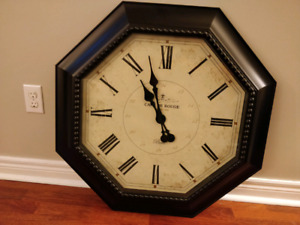 "Large 30"" wall / couch / table  clock"