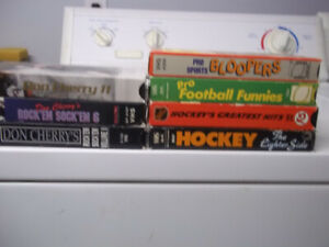 DON CHERRY VHS TAPES