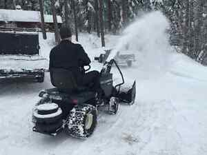 AWESOME LITTLE 18HP Craftsman SNOWBLOWER FOR SALE