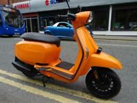 Lambretta V125 low rate finance available