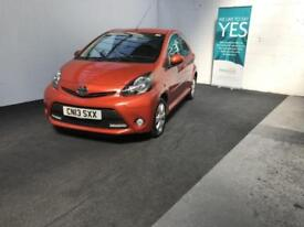 Toyota AYGO 1.0 ( 67bhp ) 2013 AYGO Fire finance available from £20 per week