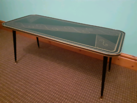1960s 70s retro coffee table