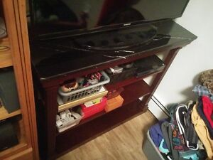 Real Marble Top Console Hallway/Entryway Table TV Stand